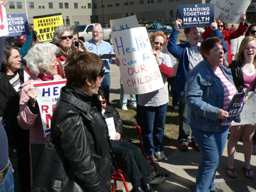 Health Care Reform March and Rally