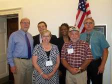 Iowa MSA Members with Rep Dave Loebsack