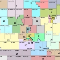 Iowa District Map