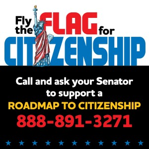 Fly Flag for Citizenship, Iowa Citizen Action Network, iowacan.org
