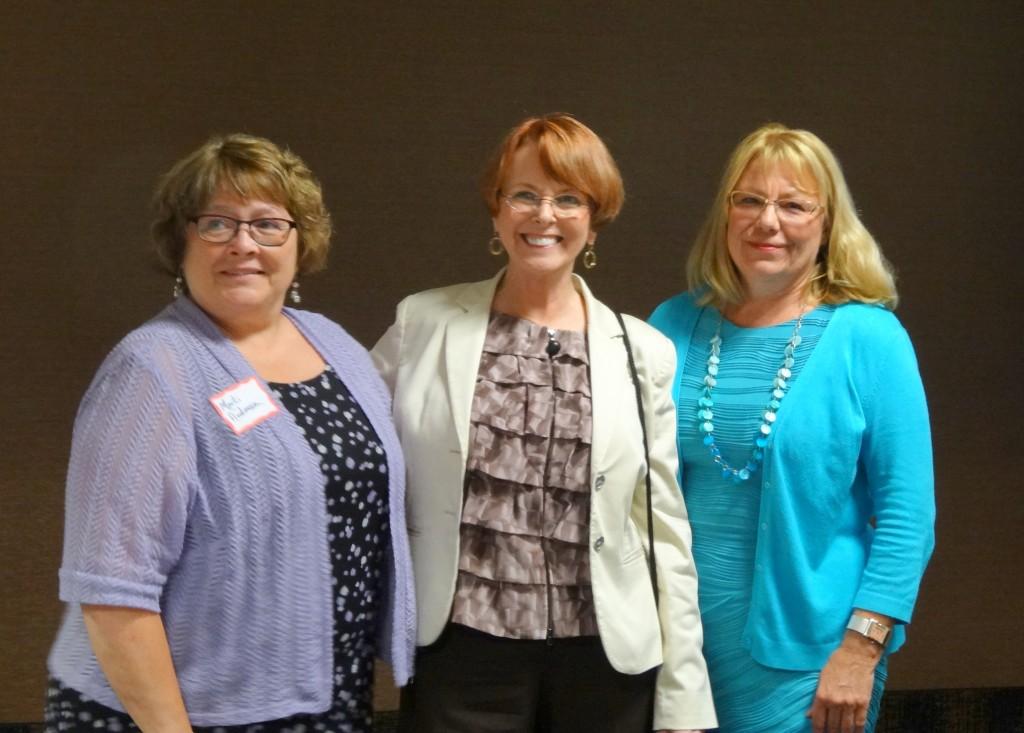 Pam Jochum, Marti Anderson, Roxanne Conlin, Iiowa Citizen Action Network, iowacan.org